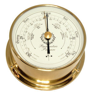 Downeaster - Barometer with White face