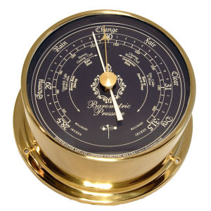 Downeaster - Barometer with Navy face