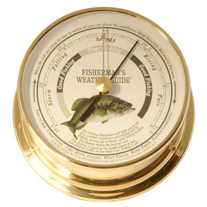 Downeaster - Barometer with Largemouth Bass