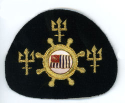 US Power Squadron - Officers Cap Insignia