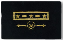 US Power Squadron - Mylar Grade Insignia for Uniform Jacket