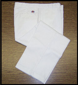 Men's White Uniform Trousers