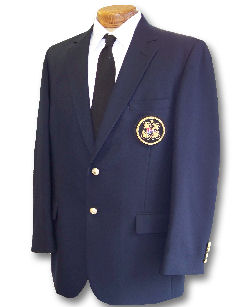 Men's Navy Yacht Club Blazer