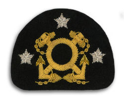 Yacht Club Officer Cap Insignia
