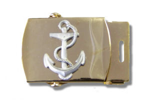 BRASS NAUTICAL BELT BUCKLES