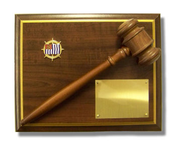 USPS Gavel Plaque