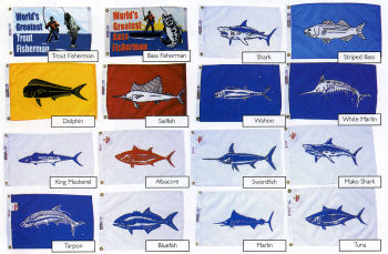 FISHING FLAGS