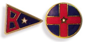 LAPEL PINS & PENNANT DISK